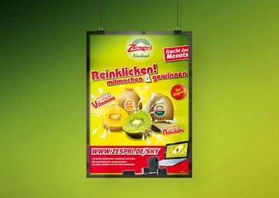 Zespri-Markt-Poster